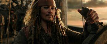 Capitan Sparrow al timone DMTNT