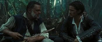 Gibbs parla a Will Turner del Kraken