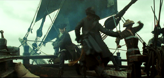 Mercer vs Barbossa