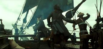 Mercer vs Barbossa