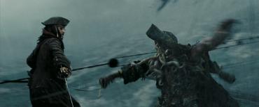 Jack Sparrow vs Davy Jones