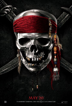 Pirates of the Caribbean- On Stranger Tides Poster