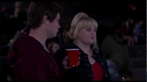 The scene when Bumper tries to hit on Fat Amy