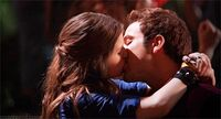 Jesse and Beca Kiss 1