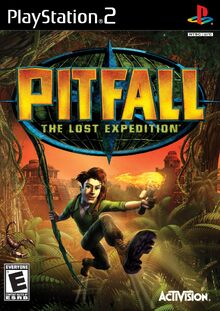 Pitfall - The Lost Expedition Coverart