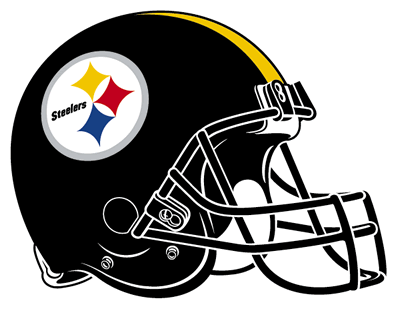 File:Pittsburgh Steelers helmet rightface.png
