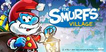 Christmas Papa Smurf Banner SV 2019