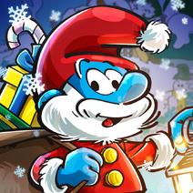 Christmas Papa Smurf Icon SV 2019