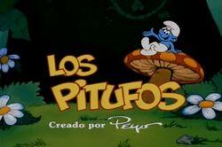 Los Pitufos Title Screen