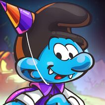 Halloween Party Smurf Icon SV 2019