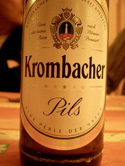 Krombacher Pils bottle