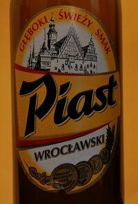 Piast Wrocławski etykieta
