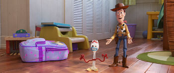 Woody & Forky