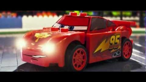 Video Disney Pixar Cars 2 Trailer Gets Lego Fied Pixar