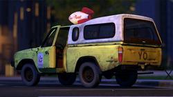 Camión de Pizza Planeta - Toy Story 2