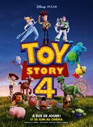 French Toy Story 4 Poster
