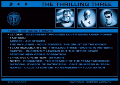 Thrilling-three