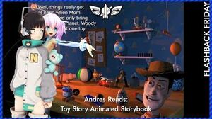 Andres Reads Toy Story Animated Storybook (PC) (Longplay)