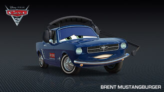 Brent Mustangburger Cars 2