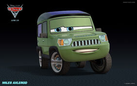Miles Axelrod Cars 2