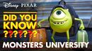 Fun Facts About Monsters University
