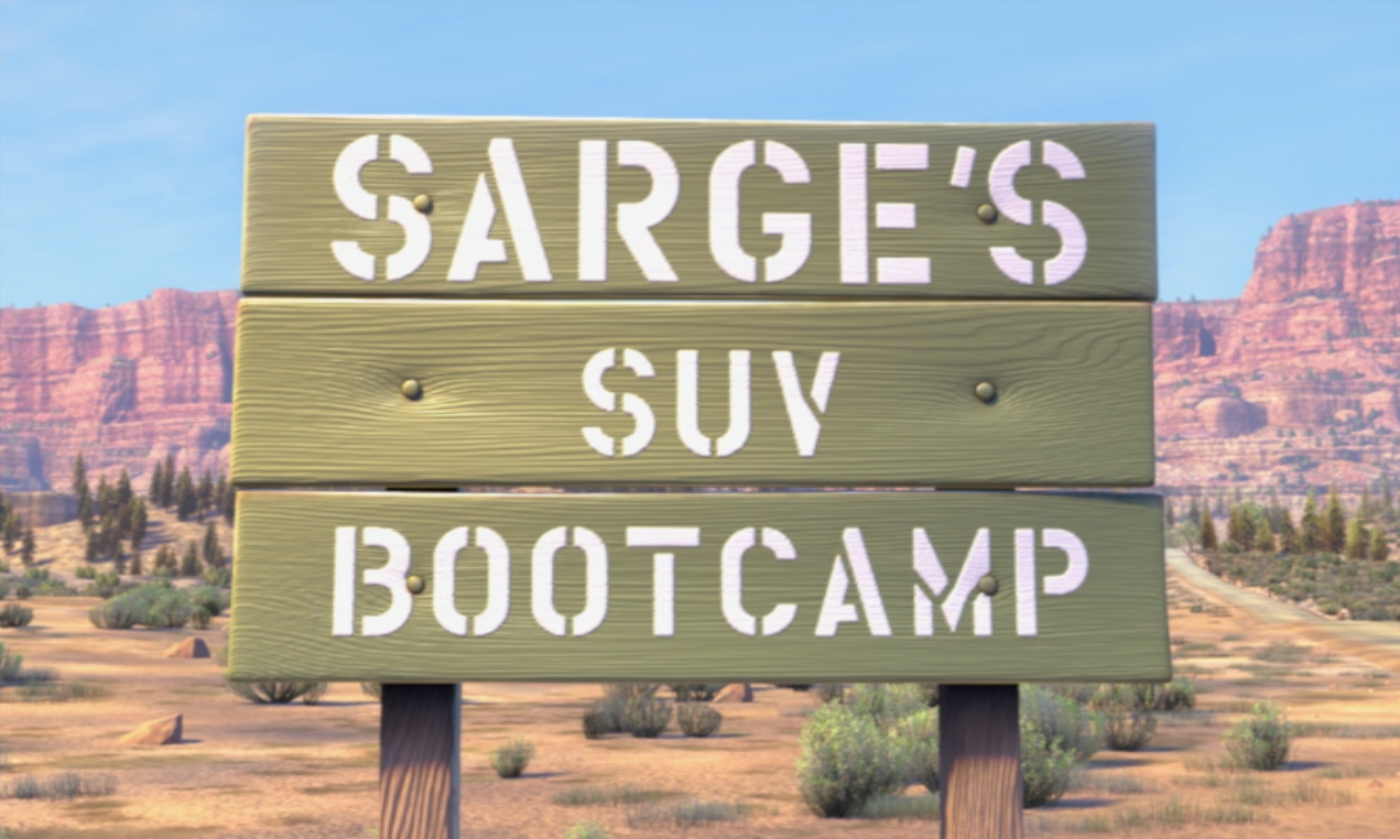 Pinky boot camp