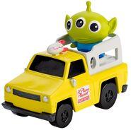 Mini Alien & Pizza Planet Truck