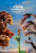 O Bom Dinossauro - Pôster Nacional