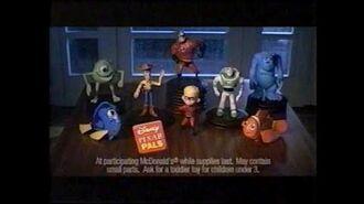 McDonald's Ad - Pixar Pals (2005)