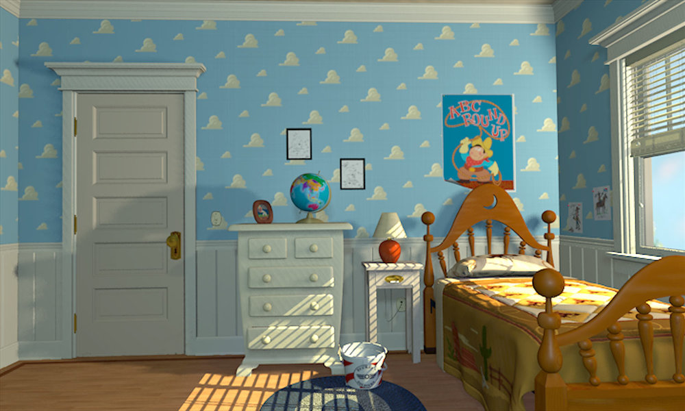 Andy s bedroom jpg. Image   Andy s bedroom jpg   Pixar Wiki   FANDOM powered by Wikia