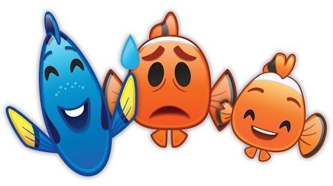 Finding Nemo as told by Emoji Disney
