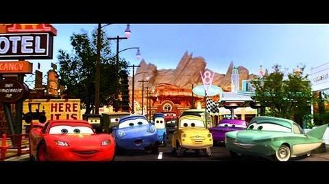 "Cars Land at Disney California Adventure Park ""Now Open"" - TV Spot"