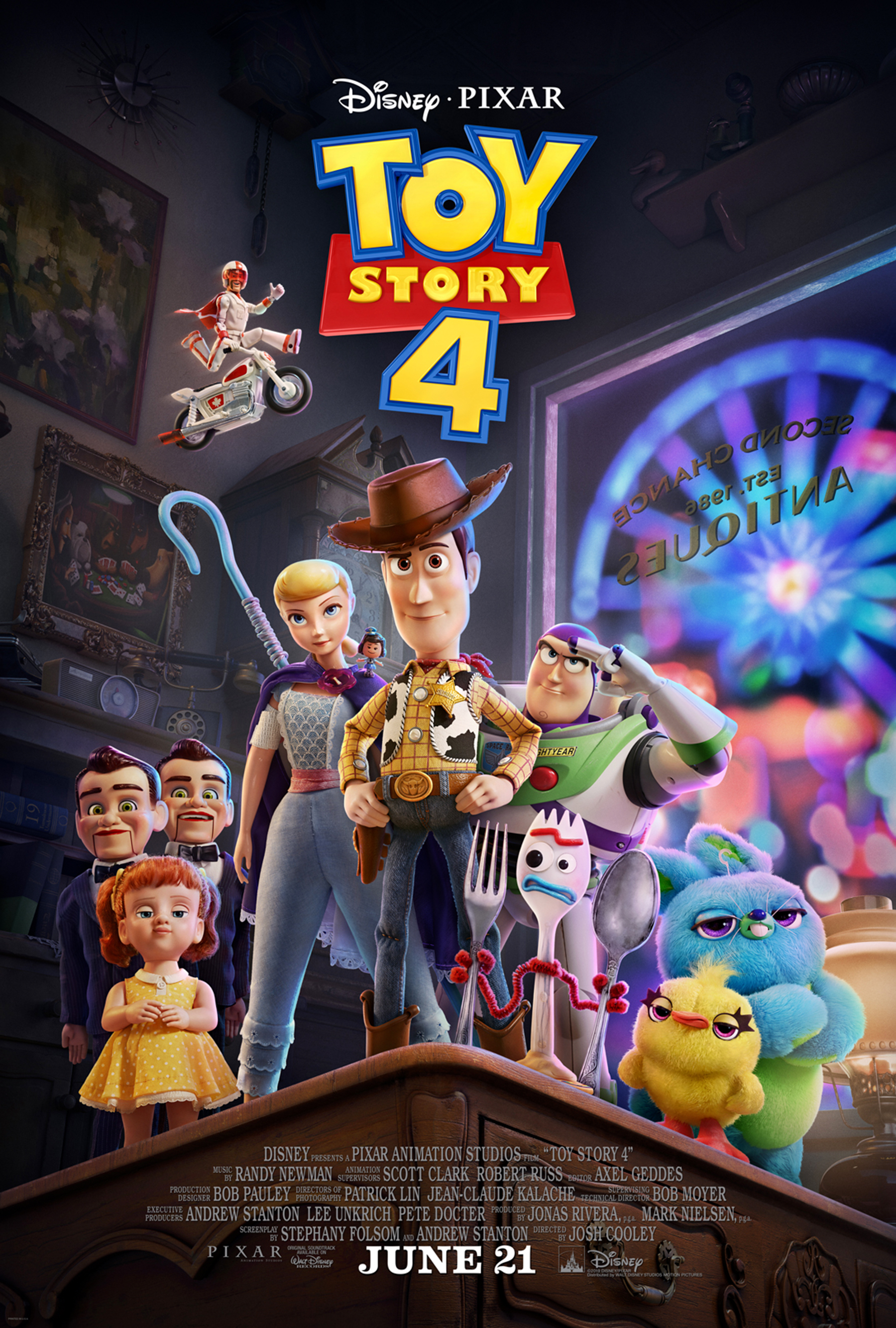 Pixar Toy Story 4: Toy Story 4