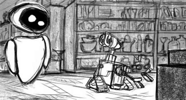 Image - WALL E Concept Art 3.jpg | Pixar Wiki | FANDOM powered by Wikia