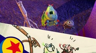 P.T. Flea's World's Greatest Circus from A Bug's Life Pixar Side by Side