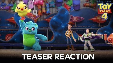 Toy Story 4 - Teaser Trailer Reaction