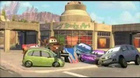 Pixar CARS Opel Promotions