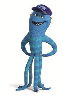 Die monster uni frank mccay
