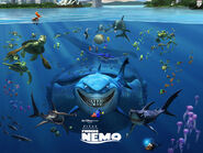 Finding nemo, by disney, 2003, cartoons