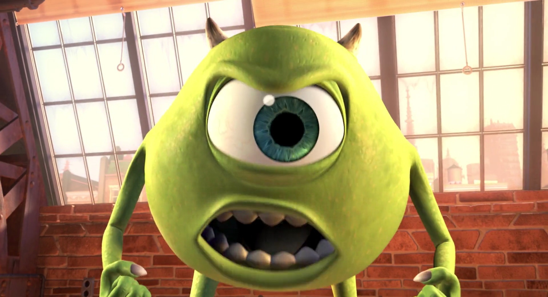 Image result for angry mike wazowski