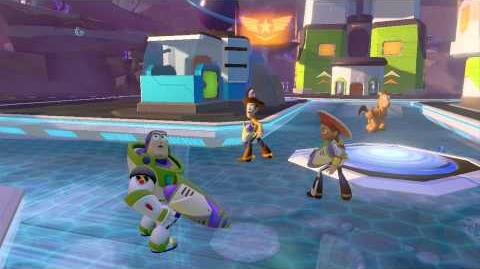 DISNEY INFINITY Toy Story in Space Play Set Trailer