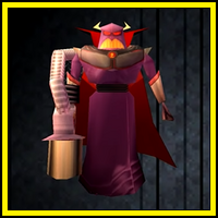 Evil Emperor Zurg boss (Toy Story 2)