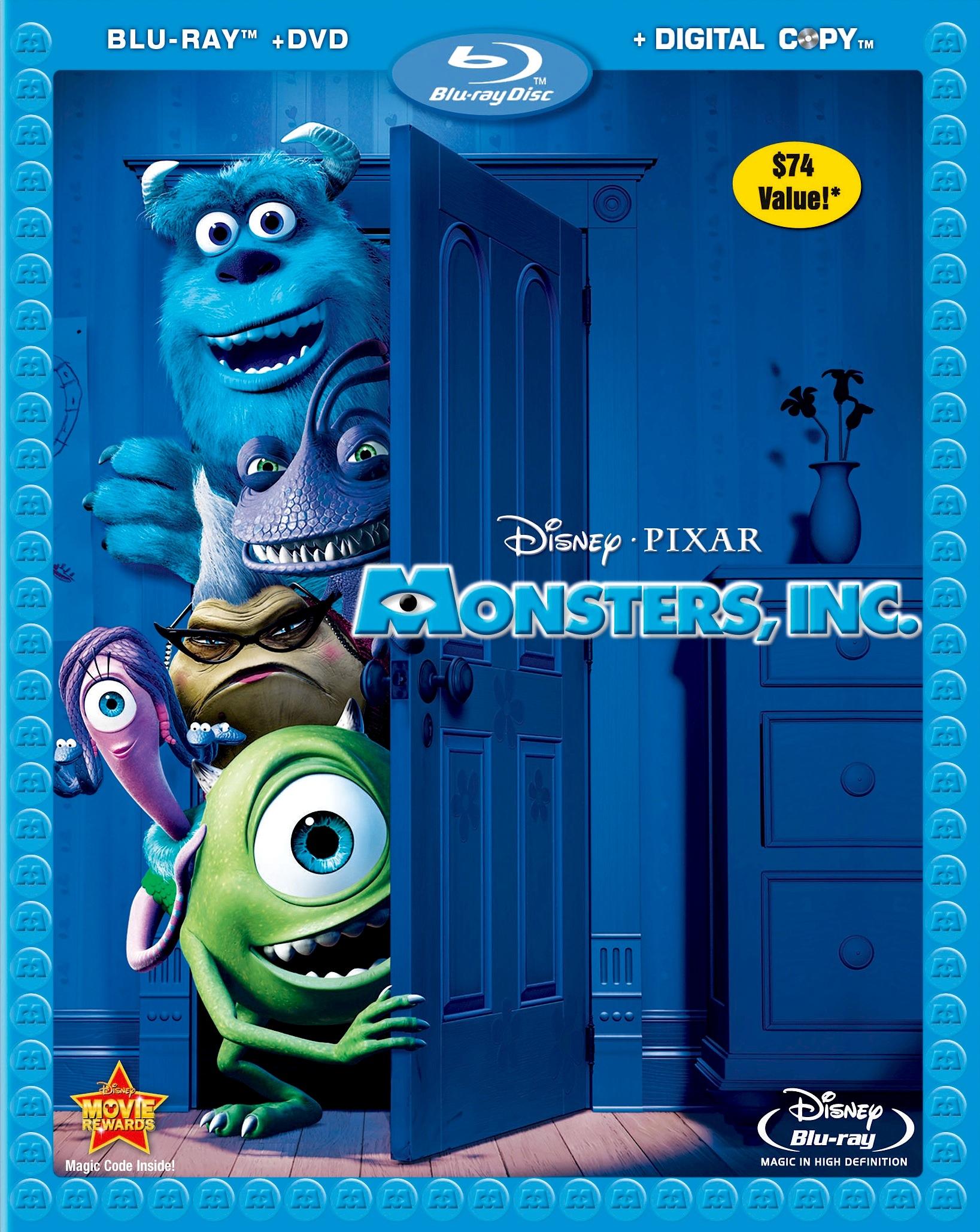 Monsters inc blu ray fotos