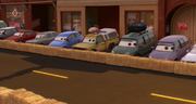 Todd's second cameo in Cars 2