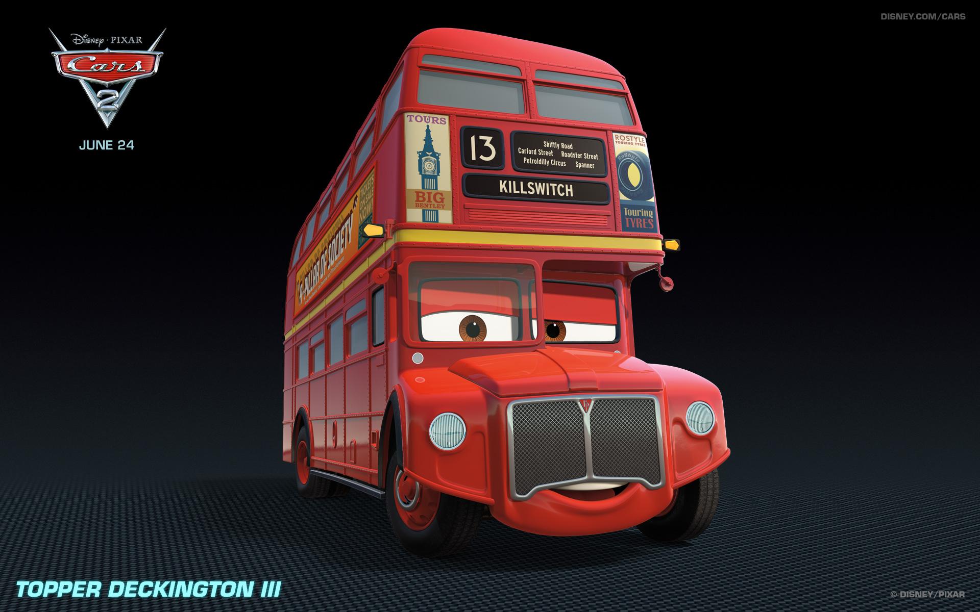 Topper Deckington Iii Pixar Wiki Fandom Powered By Wikia