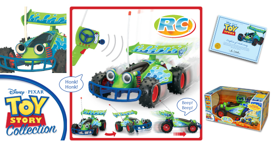RC: Wireless Remote Control Car (Toy Story Collection