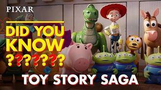 Toy Story Saga Fun Facts Pixar Did You Know?