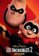Incredibles 2 Spanish Poster 01