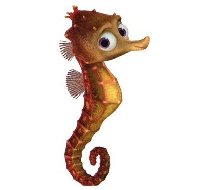 Image result for finding nemo seahorse