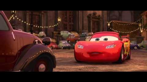 Advice From Uncle Topolino Scene - Cars 2 Movie (2011) - HD
